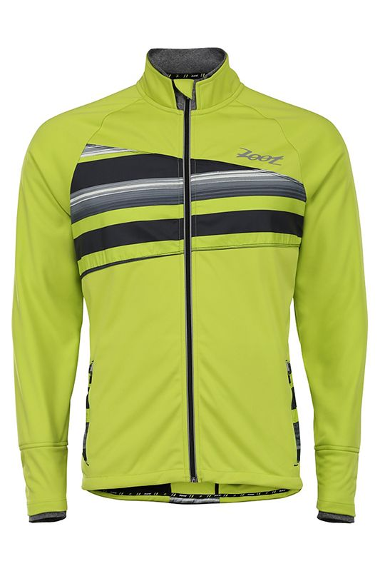 Laufjacke: Men's Spin Drift Softshell Jacket von Zoot