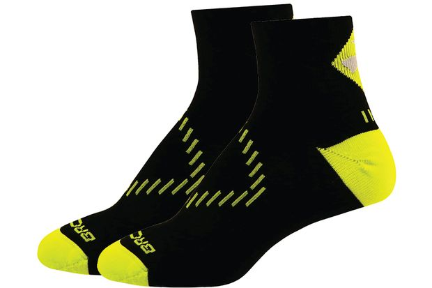 Laufsocken: Infiniti Nightlife QTR 1 Pack von Brooks