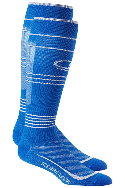 Laufsocken: Run+ Ultra Light Compression Over The Calf Socken von Icebreaker