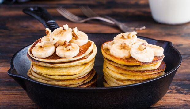 Lecker und gesund: Protein-Pancakes