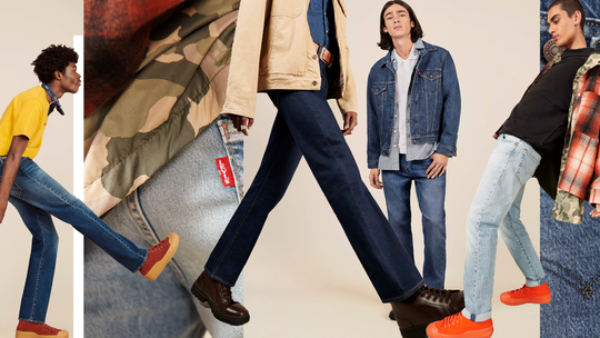 Levi's präsentiert die Modetrends im Herbst