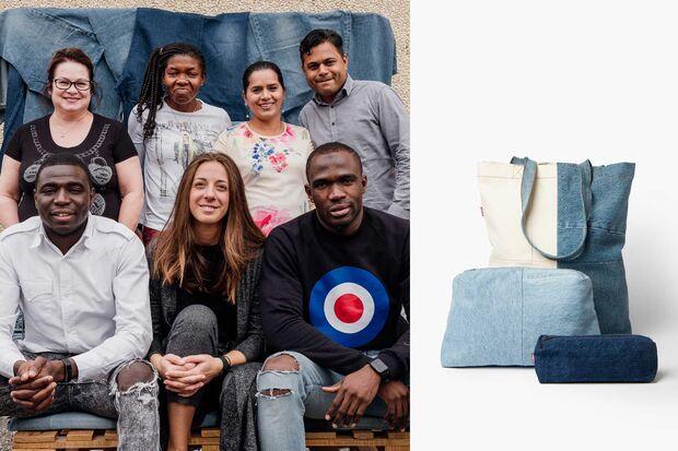 Levi's x Porto Alegre Denim Bags