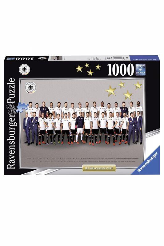 Löws Mannschaft in 1000 Einzelteilen: Ravensburger Puzzle