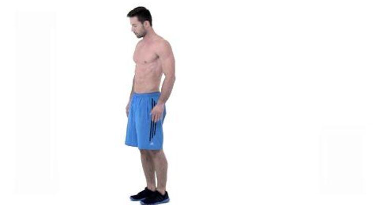 Low-Level-Burpees sind effektive Einsteiger-Übungen unseres Tabata-Workouts, die den ganzen Körper trainieren.
