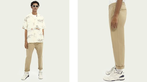 Männer-Outfits Sommer 2021 / Sctch & Soda