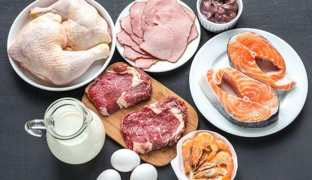 Makronährstoff Eiweiß: 0,8 - 1,2 g pro kg Körpergewicht täglich