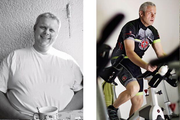 Manfred hat 70 Kilo abgenommen