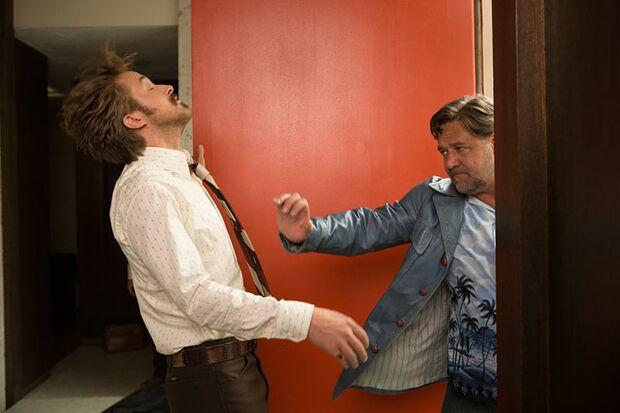 March (Ryan Gosling) und Healy (Russell Crowe) verstehen sich auf Anhieb