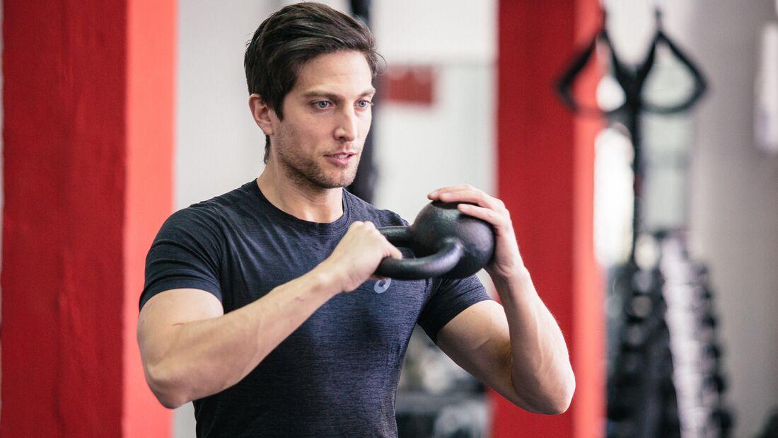 Marco optimiert in jedem Workout seinen Körper