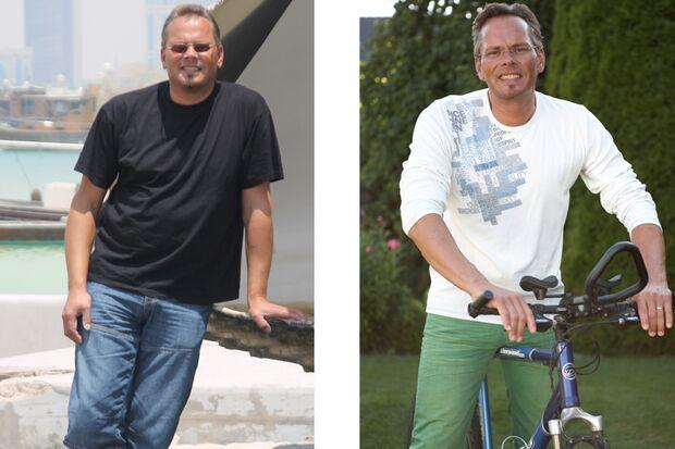 Mario hat 30 Kilo abgenommen