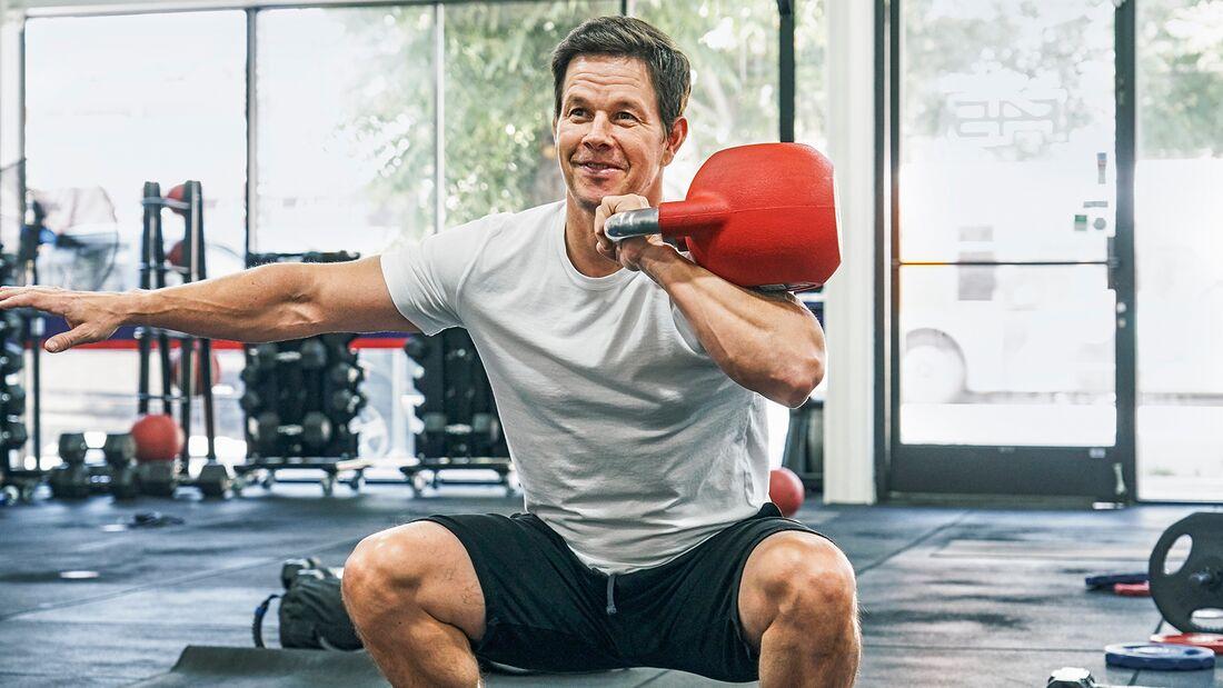 Mark Wahlberg gibt im Training immer 100 Prozent
