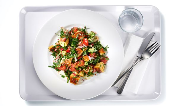 Markus' Rezept-Tipp: Veganer Petersilien-Brezen-Salat