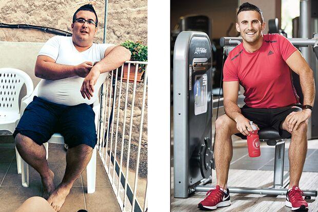 Massimo hat 60 Kilo abgenommen
