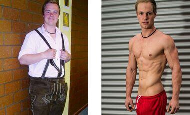 Max hat 35 Kilo abgenommen