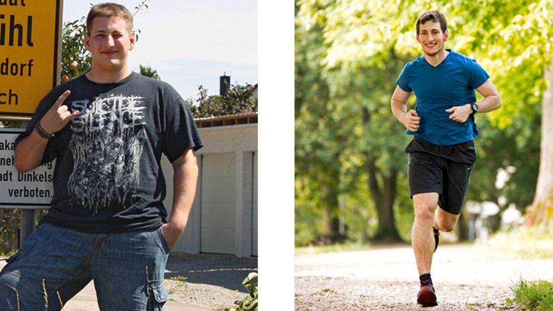 Max hat 45 Kilo abgenommen