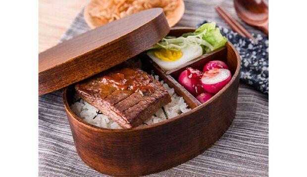 Meal-Prep-Boxen Holz