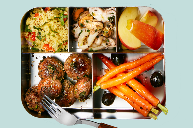 Meal-Prep Couscoussalat