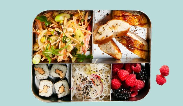 Meal-Prep asiatisch