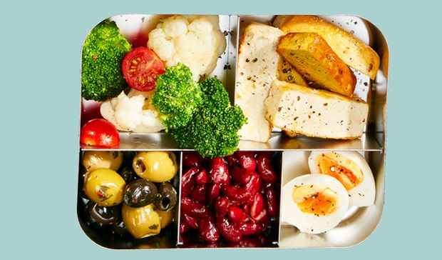 Meal-Prep vegetarisch