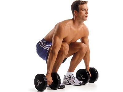 Men's Health Fitness-Lexikon – Kreuzheben mit Kurzhanteln