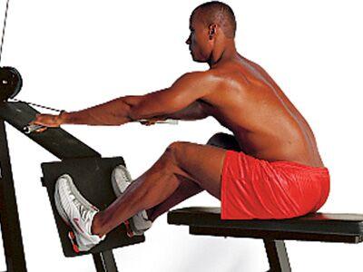 Men's Health Fitness-Lexikon – Rudern (Maschine) mit Seilgriff