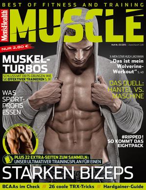 Men's Health MUSCLE 0315