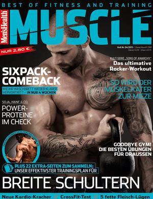 Men's Health MUSCLE 0415