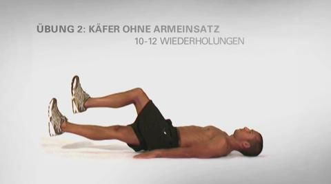 Men's Health Quick-Sixpack-Workouts: Folge 1 – Waschbrett-Training ohne Geräte