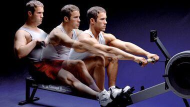 Men's Health Ruder-Challenge: Wir rudern Sie fit!
