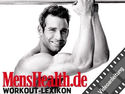 Men's Health Workout-Lexikon – Videoanleitung Back-Extensions, Rückenstrecker, Hyper-Extensions, Rumpfheben