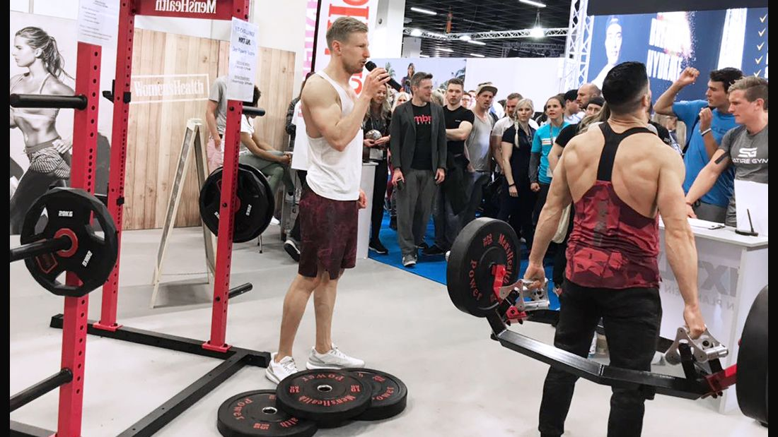 Men's Health auf der FIBO 2019