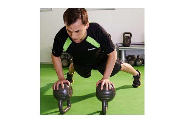 Men's Health wirkt, das beweist das Workout von Izzet