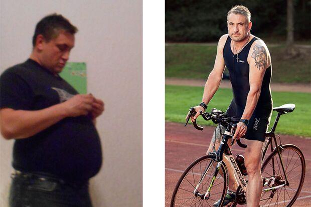 Michael hat 44 Kilo abgenommen