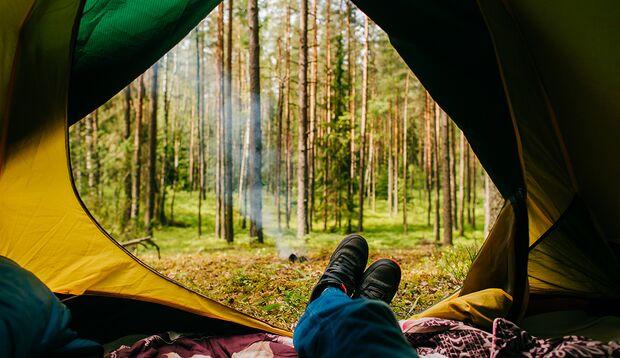 Mikro-Abenteuer: Übernachten im Wald
