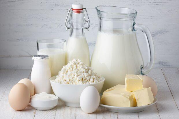 Milchprodukte liefern Vitamin B2