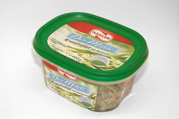 Milder Krautsalat mit Bärlauch von Nadler
