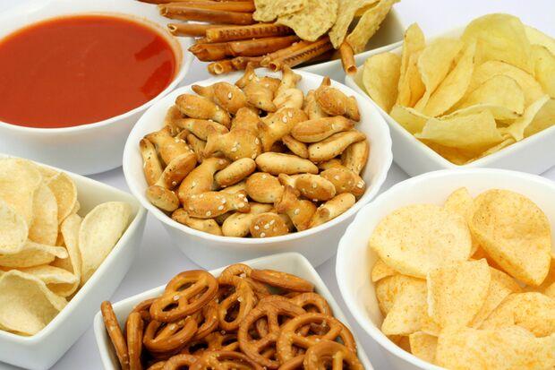 Mit Chips und Kräckern kann man nicht gesund abnehmen