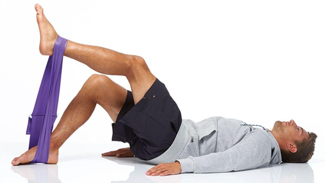 Mit Dehn-, Fitness- oder Übungsbändern haben Sie es jederzeit in der Hand, etwas für Ihre Beweglichkeit und auch Ihre Kraftausdauer zu tun