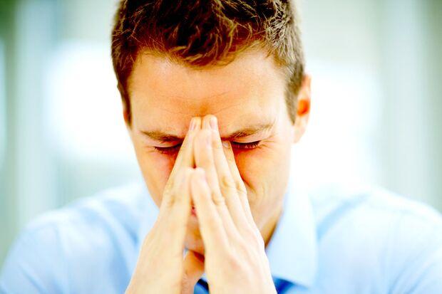 Mit Kopfschmerzen fällt jegliche Konzentration flach