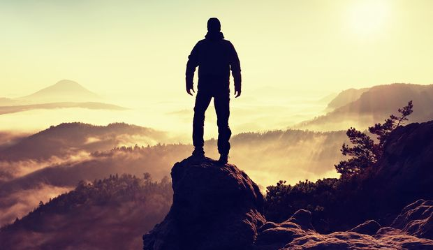 Mit Mut und Erfahrung besiegen Sie mit der Zeit die Angst.