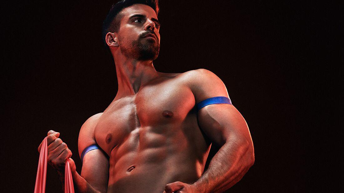 Mit Okklusionstraining mehr Muskeln aufbauen