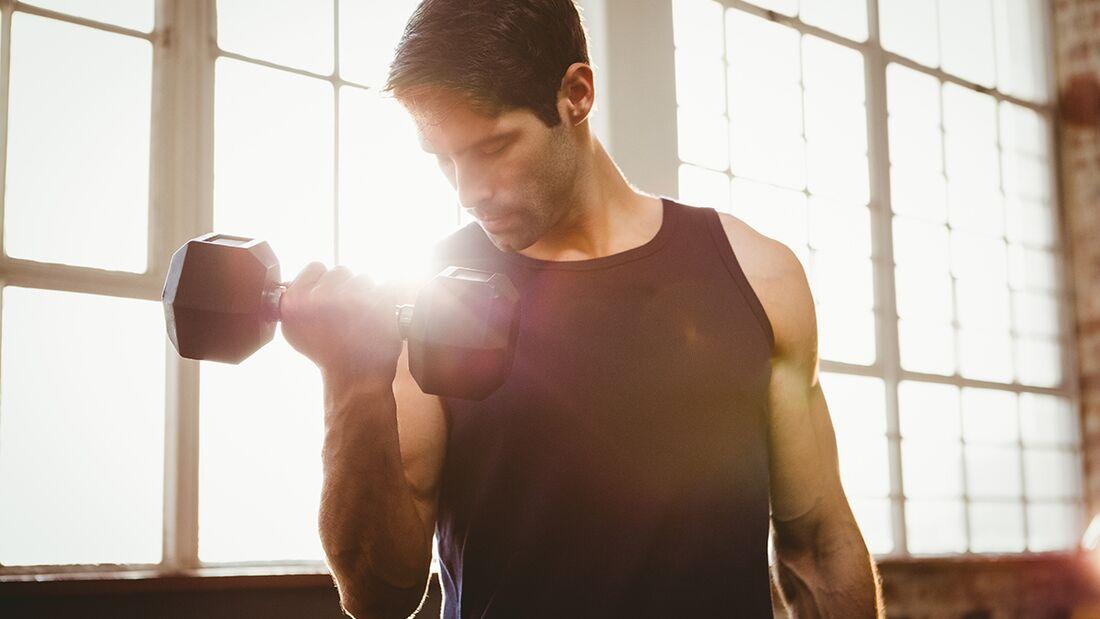 Mit Supersatz-Training schnell zu mehr Muskeln