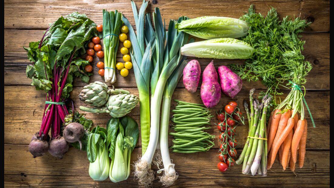 """Mit Vitaminen sind Vegetarier normalerweise wesentlich besser versorgt als so genannte """"Mischköstler""""Mit Vitaminen sind Vegetarier normalerweise wesentlich besser versorgt als so genannte """"Mischköstler"""""""