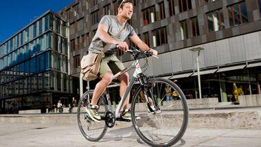 Mit dem Bike sind Sie schneller am Ziel