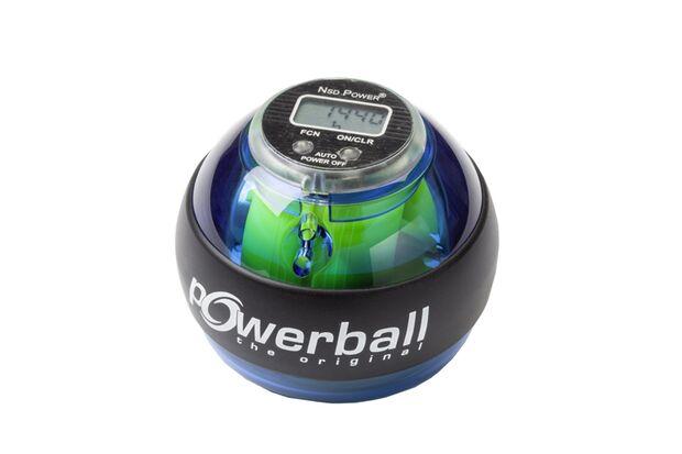 Mit dem Powerball erzielen Sie handfeste Trainingsbeweise