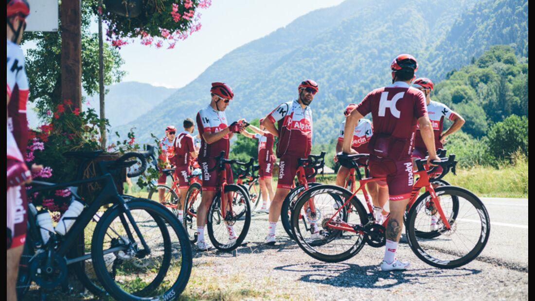 Mit dem Team Alpecin zur L'Etape du Tour