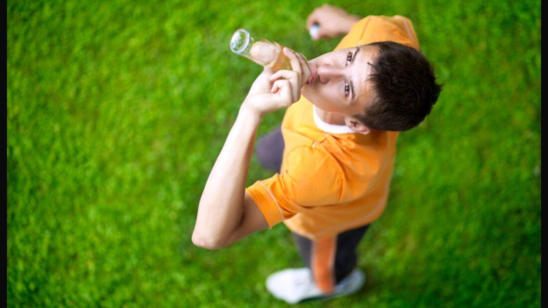 Mit den richtigen Drinks und Mitteln zum Extra-Ausdauerkick