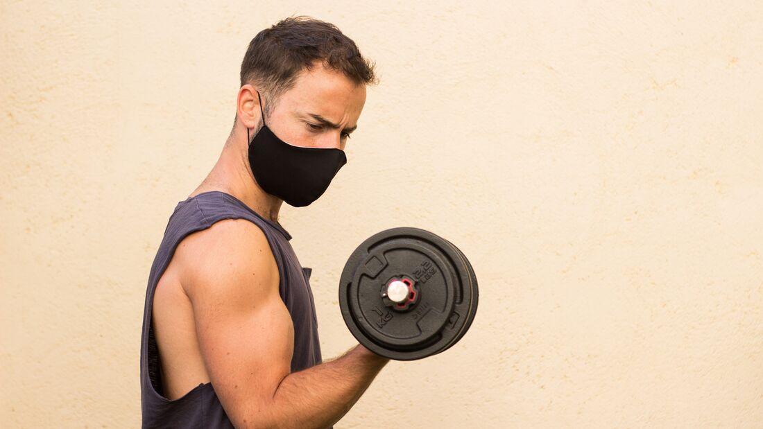 Mit den richtigen Sportmasken kannst du dich und dein Umfeld auch beim Sport schützen
