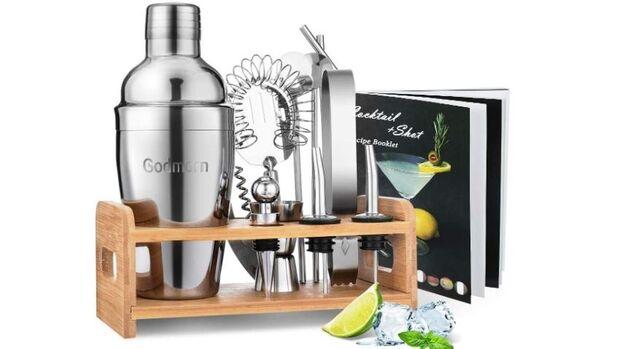 Mit einem Cocktail-Set ist du selbst der Barkeeper