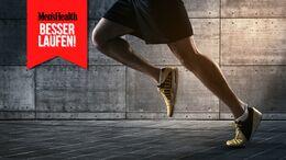 Mit einem guten Laufstil sparst du Kraft und beugst Verletzungen vor.